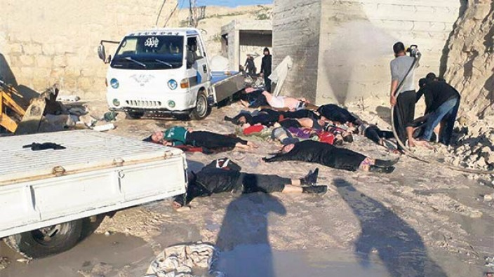 İdlib'e kimyasal saldırı düzenleyen pilot öldürüldü!
