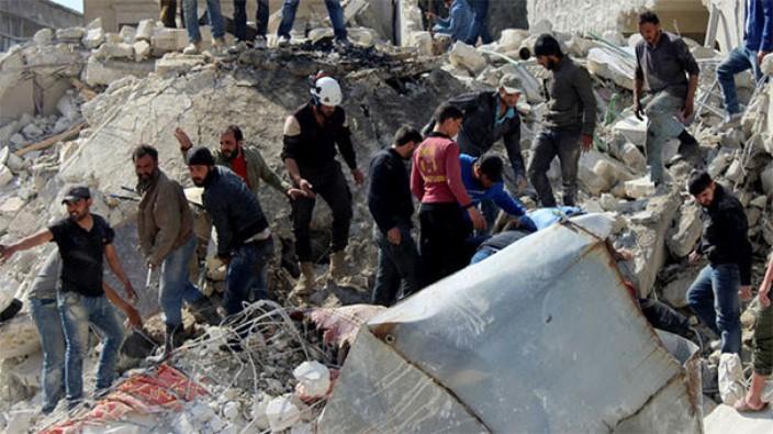 İdlib'te Katliam!