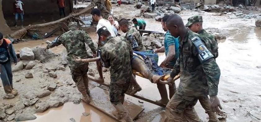 Kolombiya'da sel felaketi: 200 ölü