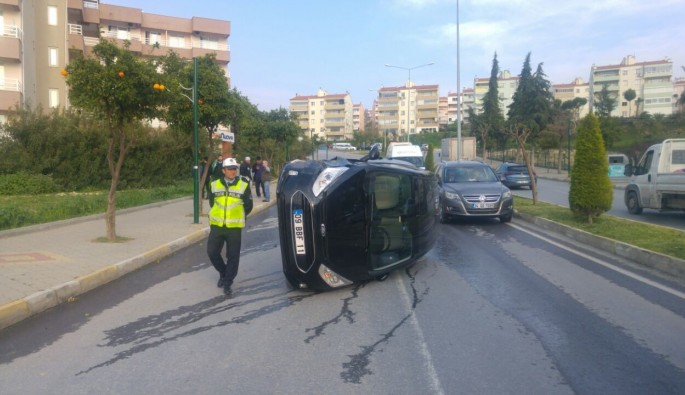 Kuşadası'nda trafik kazası