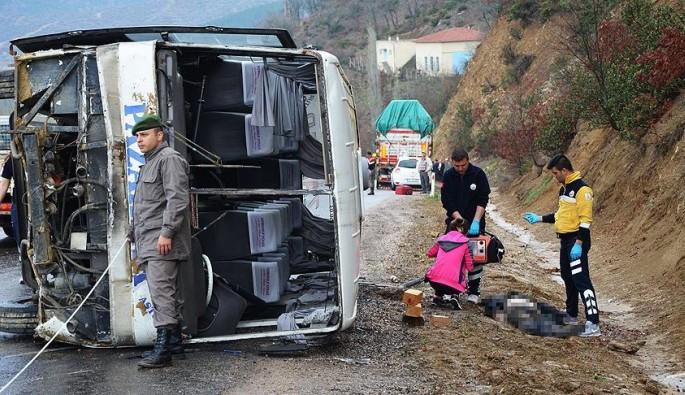Kütahya Simav'da feci kaza: 1 ölü