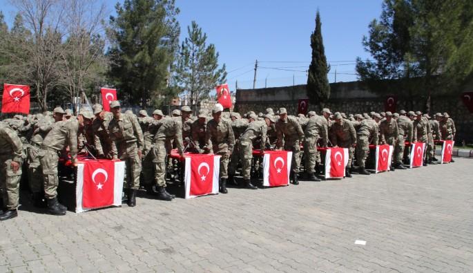 Mardin'de 298 güvenlik korucusu yemin etti