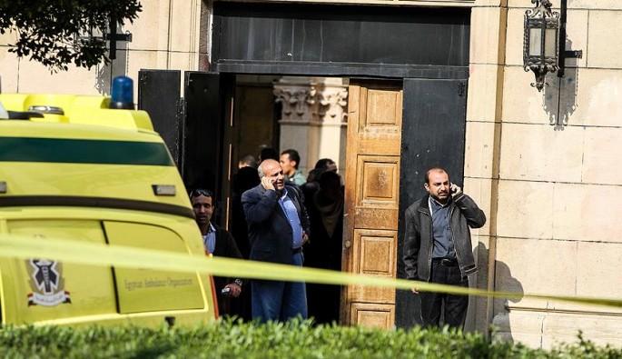 Mısır'da kilisede patlama!