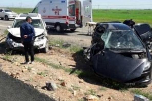 Silopi'de polis aracı kaza yaptı: 1 polis şehit, 5 kişi yaralandı