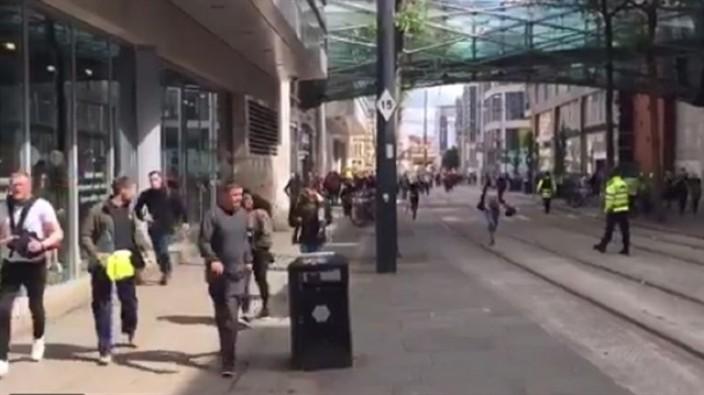 Manchester'da bomba alarmı