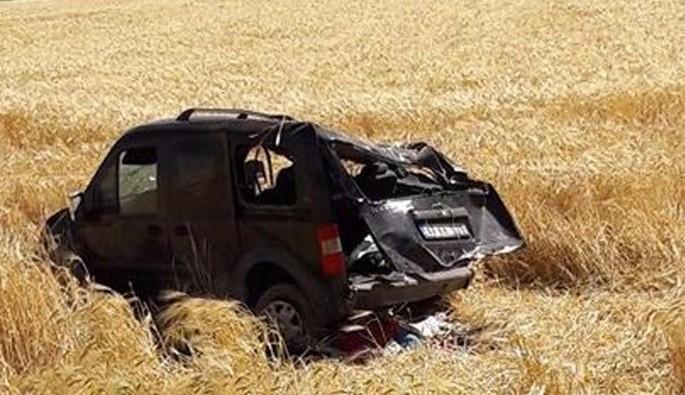 Mardin'de trafik kazası meydana geldi
