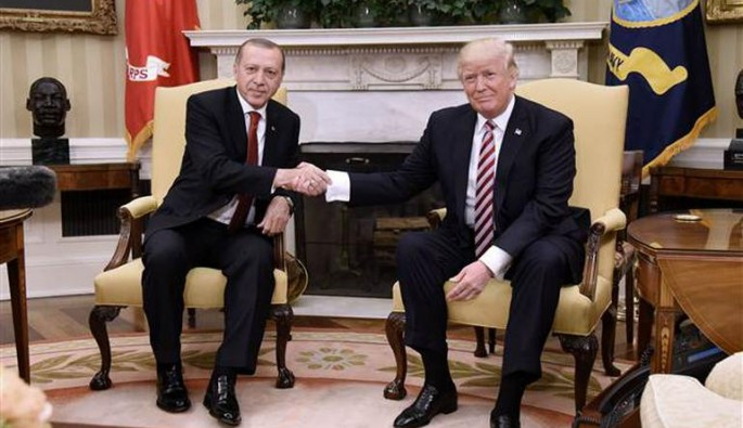 Trump'la basın toplantısında Erdoğan'dan flaş YPG ve FETÖ mesajları