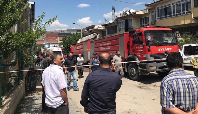 Ankara'da sanayi bölgesinde patlama