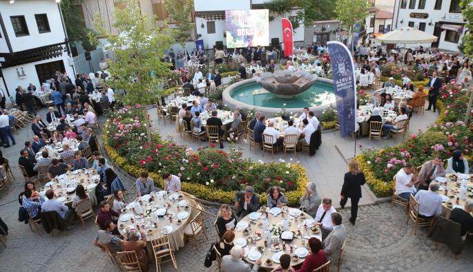 Ankara'daki Bursa Evi'nde iftar yemeği düzenlendi