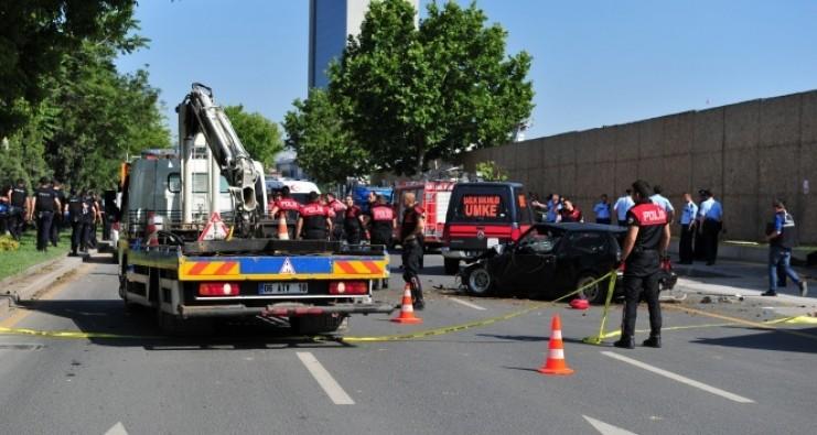 Ankara'da feci kaza: 9'u ağır 17 yaralı
