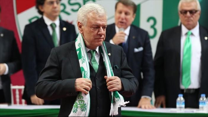 Başkan Ali Ay Bursaspor'un borcunu açıkladı