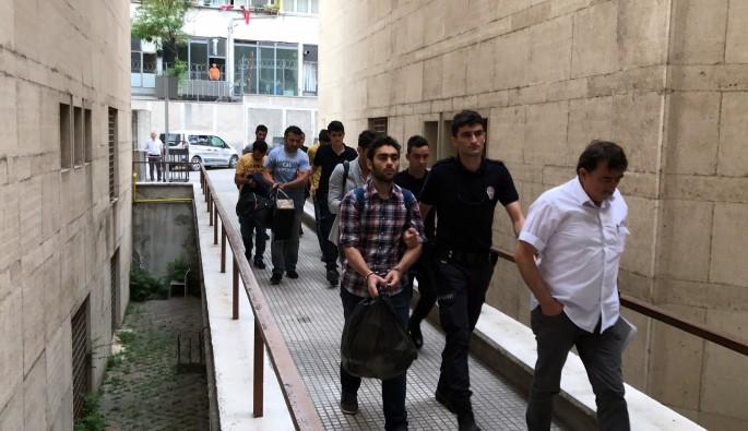 Bursa'da 6 eski infaz memuru adliyeye sevk edildi