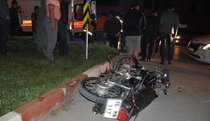 Bursa'da kaza yapan sürücü hayatını kaybetti