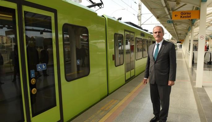 Bursa metrosuna aktarma merkezi geliyor