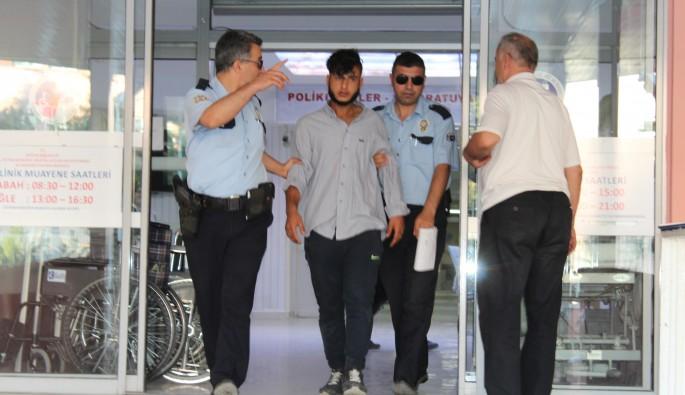 Bursa'ya gelen Suriyeli genç darp edildi