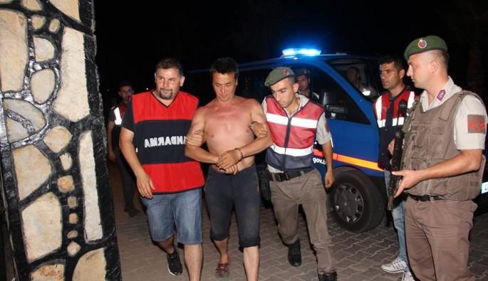 Cinayet zanlısı 14 gün sonra tatil yaparken yakalandı