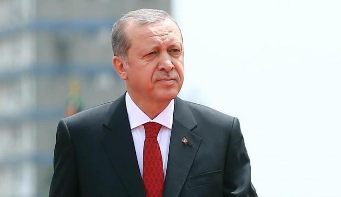 Cumhurbaşkanı Erdoğan, Macron ve Al Sani ile 'Katar'ı görüştü