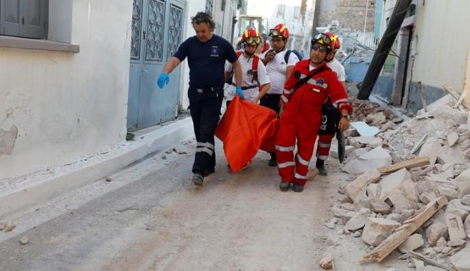 Ege'deki depremde can kaybı!