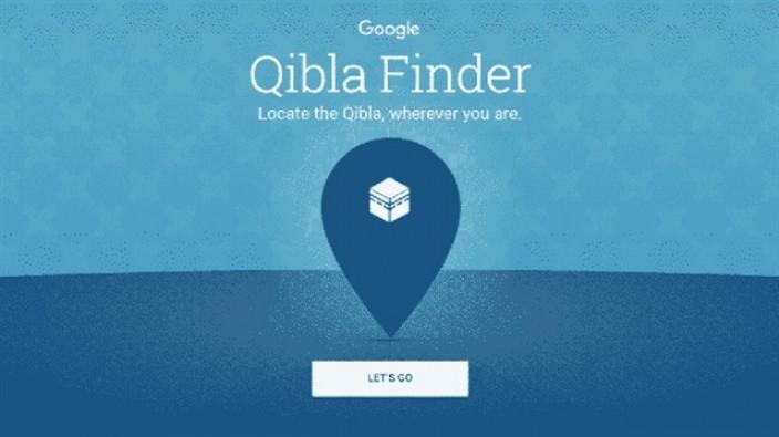 Google'dan kıble uygulaması