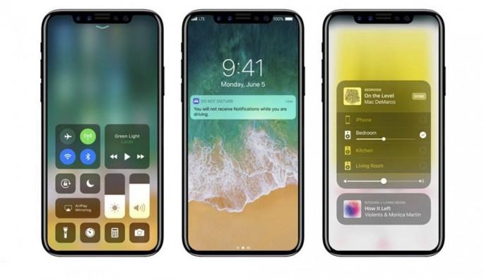 IOS 11 yüklü iPhone 8 böyle görünecek