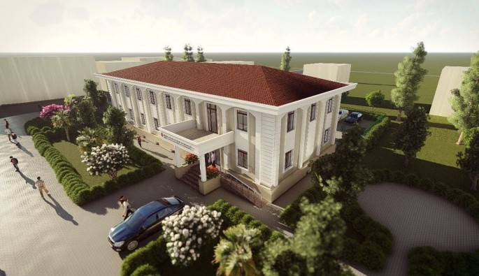 İznik'te Hükümet konağı yeni yüzüne kavuşuyor