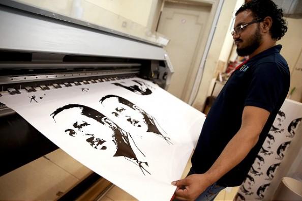 Katar'da Erdoğan posterlerine yoğun ilgi