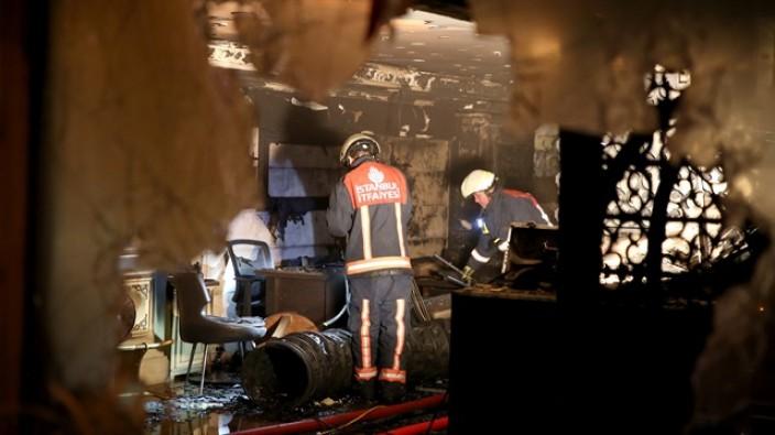 Kumkapı'da yangın çıkan otelin sahibi tutuklandı