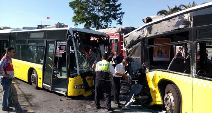 Metrobüs sürücüsü hayatını kaybetti