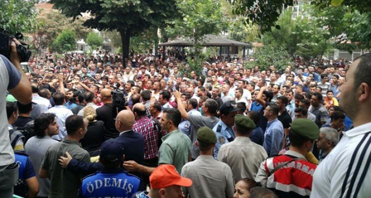 Minik Ceylin'in cesedinin bulunduğu mahallede arbede