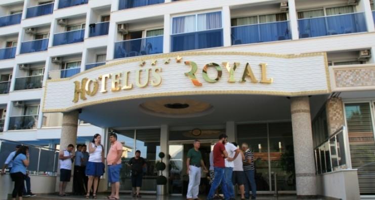 Otelde rezervasyon skandalı