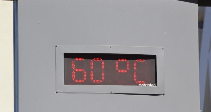 Şanlıurfa'da termometreler 60 dereceyi gösterdi