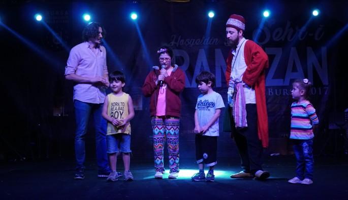 Şehr-i Ramazan Merinos Park'ta devam ediyor