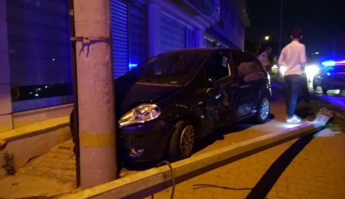 Sırameşeler Metro İstasyonu'nda korkutan kaza!