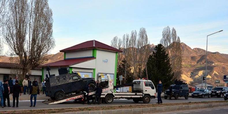 Şırnak'ta zırhlı araç devrildi; 8 polis yaralandı