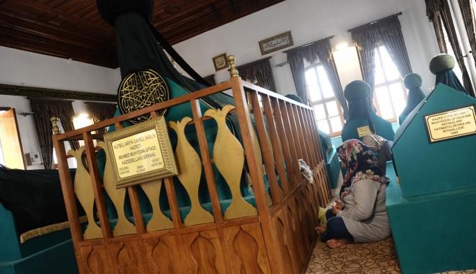 Üftade Hazretlerine ait özel eşyalara Ramazan ayında yoğun ilgi