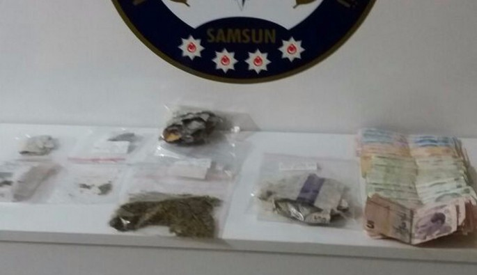 Uyuşturucu ticaretine 2 tutuklama