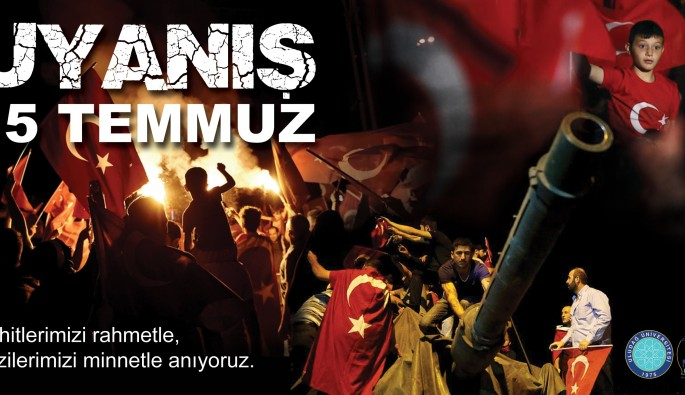 """""""15 Temmuz demokrasimizin sembolüdür"""""""