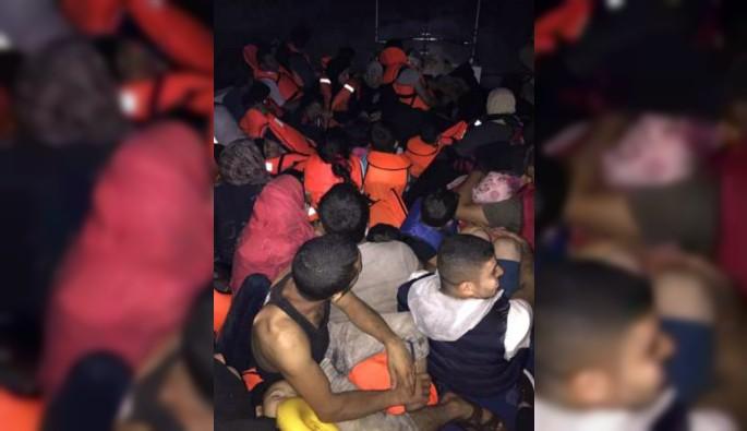 57 kaçak göçmen Kuşadası Körfezi'nde yakalandı