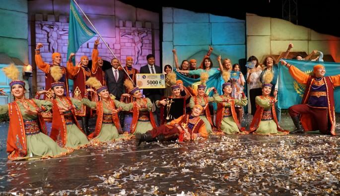 Altın Karagöz'ün kazananı Kazakistan
