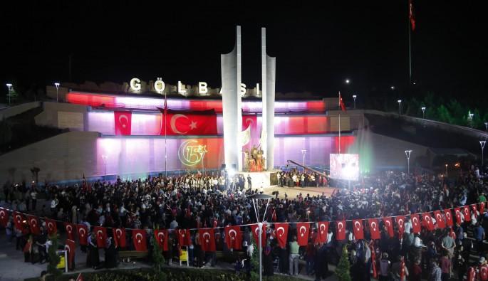 """Ankara'daki """"Şehitler Anıt'ı"""" açıldı"""
