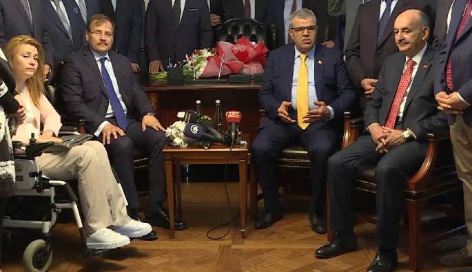 Bursa Milletvekili Çavuşoğlu Başbakan Yardımcılığı görevini devraldı