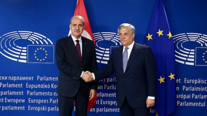 Başbakan Yardımcısı Kurtulmuş, Avrupa'nın kalbi Brüksel'de