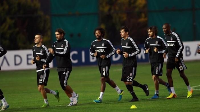 Beşiktaş Hazırlıklara Devam Ediyor