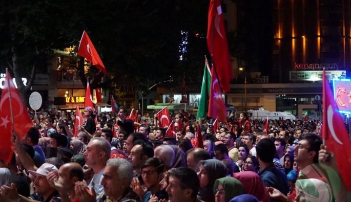 Bursa'da 15 Temmuz etkinlikleri