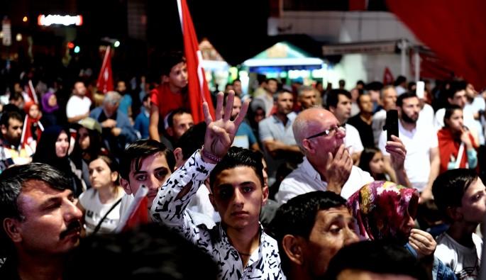 Bursa'da demokrasi nöbeti sona erdi