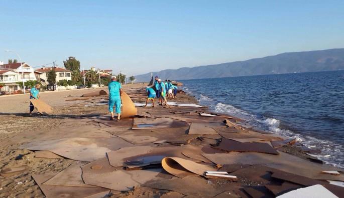 Bursa'da sahili kirleten o gemi ile ilgili yeni gelişme