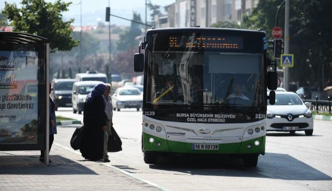 Bursa şehir içi otobüslerinde 10 numara yağ dönemi bitiyor