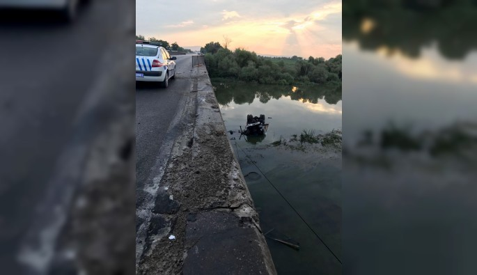 Bursa'da tuğla yüklü kamyon göle uçtu: 1 ölü