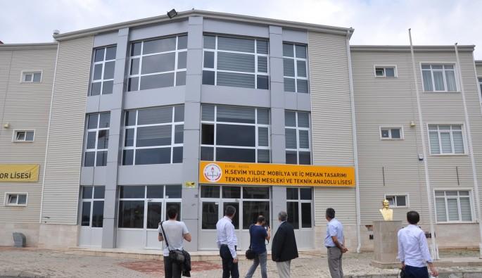 Bursa'daki tematik Lise'ye rekor başvuru