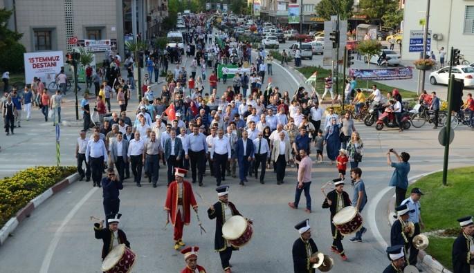 Bursa İnegöl'de Uluslararası Kültür Sanat Festivali coşkusu
